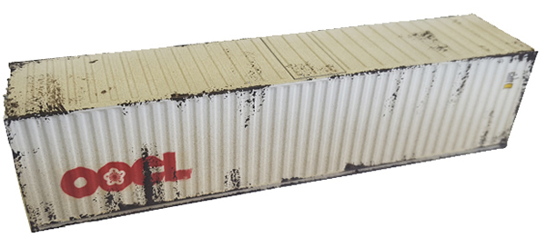 Mabar MH-58896 - Container 40 OOCL weathered