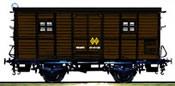 Baggage car DV61152 RENFE brown