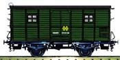 Baggage car DV61220 RENFE green