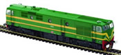 Spanish Diesel locomotive 1912 of the RENFE (DCC Sound Decoder)