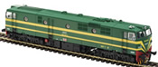Spanish Diesel Locomotive 19904 of the RENFE (DCC Sound Decoder)