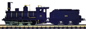 Spanish Steam Locomotive #203 of the MZA