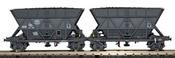 2pc Hopper Wagon T2 Set SNCF-SOGEWAG