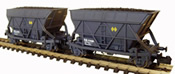2pc Hopper Wagon T2 Set Renfe grey