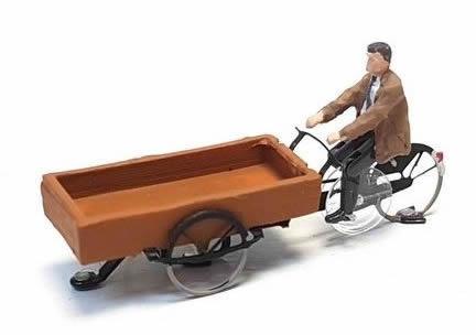Magnorail KKe-1 - Cargo bike ready to run HO/OO for Magnorail System KKe-1