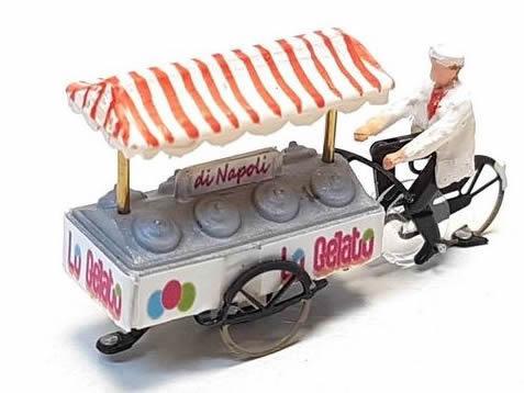 Magnorail KKg-1 - Ice-cream man Ready to Run H0 for Magnorail System KKg-1