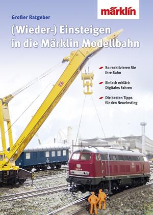 Marklin 03070 - Book Re-entry / change to the digital model railway - German Print