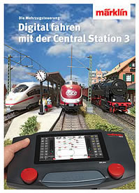 Marklin 03092 - Book - Digital Control with Central Station 3, English text