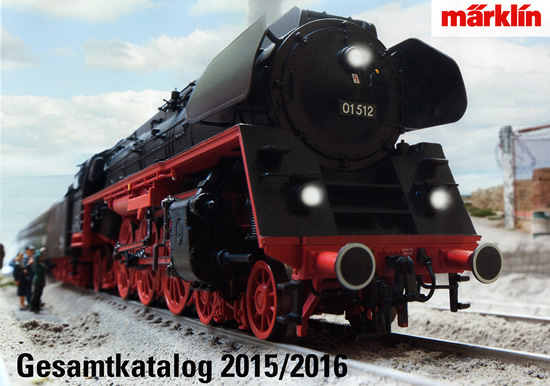 Marklin 15730 - Full Line Catalog for 2015/2016 - German Edition
