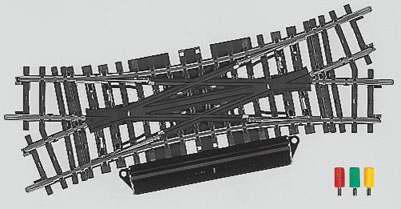 Marklin 2260 - K TRACK DOUBLE SLIP REMOTE