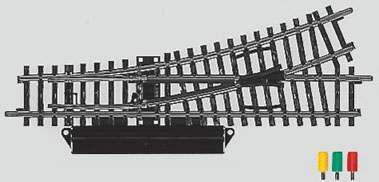Marklin 2262 - K TRACK TURNOUT LEFT