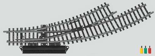 Marklin 2269 - K TRACK TURNOUT RH REMOTE