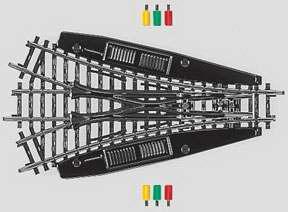 Marklin 2270 - K TRACK TURNOUT 3-WAY