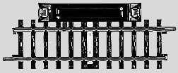 Marklin 2299 - K STRAIGHT CIRCUIT TRACK