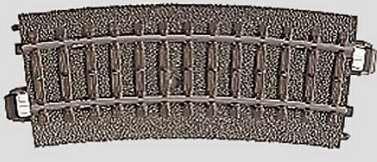 Marklin 24115 - C CURVED TRACK 14-3/16