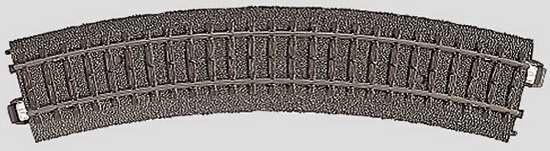 Marklin 24130 - C CURVED TRACK 14-3/16