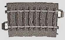 Marklin 24207 - C CURVED TRACK 17-1/4