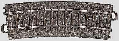 Marklin 24215 - C CURVED TRACK 17-1/4