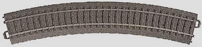 Marklin 24230 - C CURVED TRACK 17-1/4
