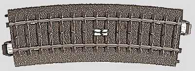 Marklin 24294 - C CURVED CIRCUIT TRACK 17-1/4