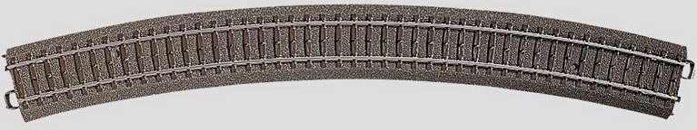 Marklin 24530 - C CURVED TRACK 25-5/16
