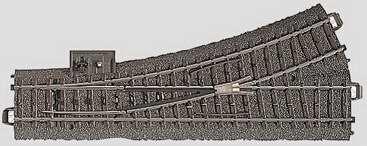Marklin 24611 - C LEFT TURNOUT
