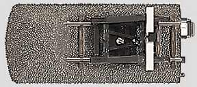 Marklin 24978 - C TRCK END W/BUMPER / LANTERN