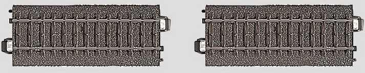 Marklin 24995 - C CONTACK TRACK SET  2/PK