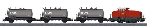 Marklin 26569 - German Petroleum Oil Transport Train Set of the DB AG - Start-up