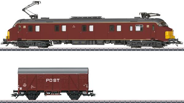Marklin 26613 - Dgtl NS cl mP 3000 Postal System Electric Powered Rail Car, Era IV