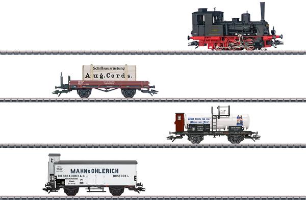Marklin 26614 - Dgtl DRG 800 Years of Rostock Train Set, Era II