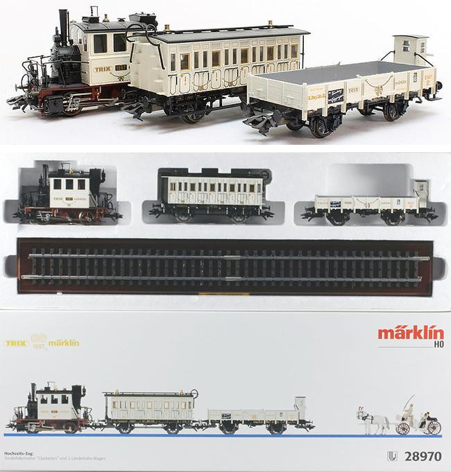 Marklin 28970 - Marklin/Trix 1997 Wedding Train Set