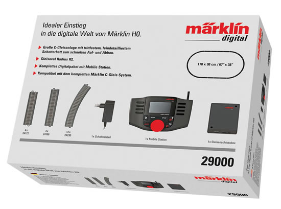 Marklin 29000 - Digital Start Package with Mobil Station 120V & 230V