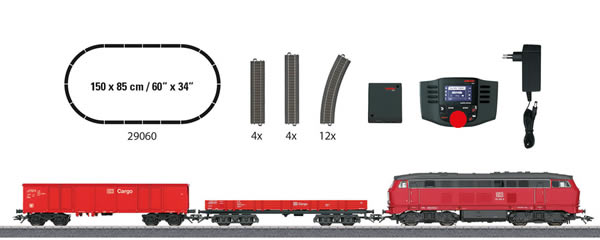 Marklin 29060 - Digital German Freight Train Starter Set - START UP