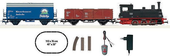 Marklin 29140 - Freight Train Starter Set with IR Controller - Start Up