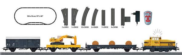 Marklin 29184 - Start Up - Diesel Locomotive Starter Set Baustelle