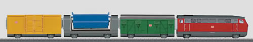 Marklin 29210 - My World Freight Train Battery Starter Set