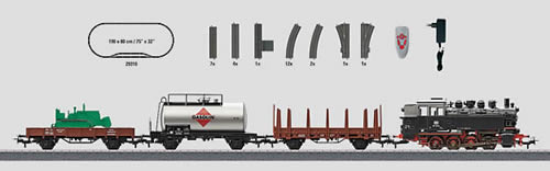 Marklin 29322 - Freight Train Starter Set with IR Controller - Start Up