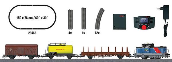 Marklin 29468 - Digital Start Set Swedish freight train (Sound Decoder)