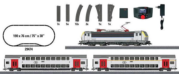 Marklin 29474 - Digital Starter Set Passenger Train (Sound Decoder)