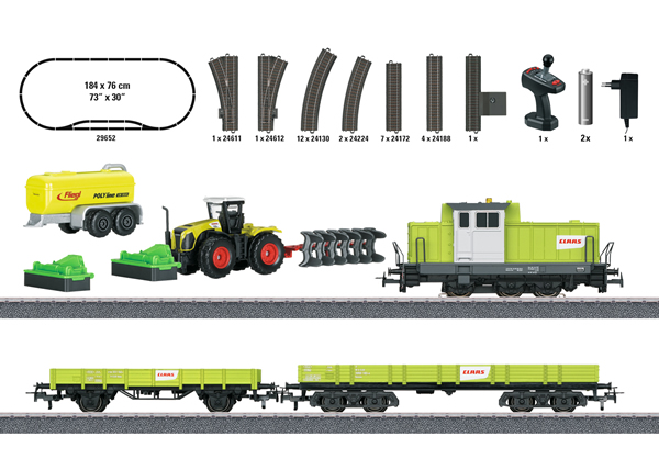 "Marklin 29652 - ""Farming Train"" Starter Set  - Start Up"