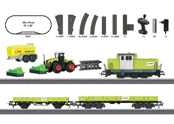 "Marklin 29652 - ""Farming Train"" Starter Set. - Start Up"