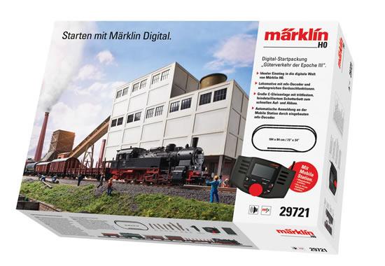 Marklin 29721 - Era III Freight Service Digital Starter Set (Sound Decoder)