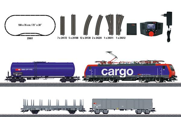 "Marklin 29861 - ""Swiss Freight Train"" Digital Starter Set (Sound)"