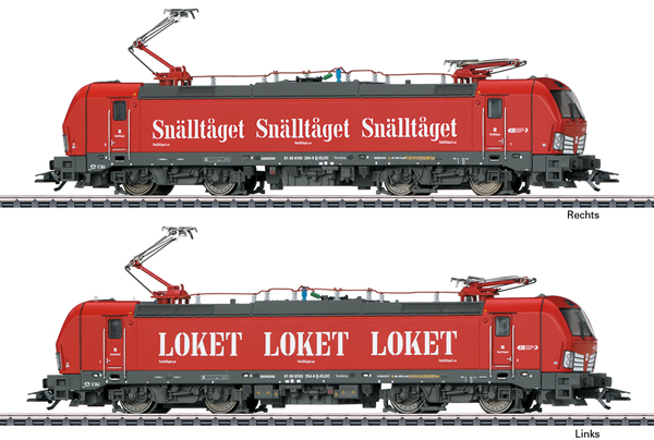 Marklin 36184 - Swedish Electric Locomotive Class 193 Snalltaget (Sound)