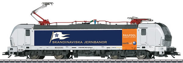 Marklin 36192 - Swedish Electric Locomotive Class 193 Railpool Northrail of the SE (Sound Decoder)