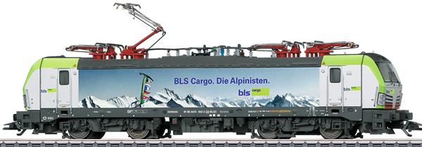 Marklin 36198 - Dgtl BLS cl 475 Die Alpinisten Electric Locomotive, Era VI
