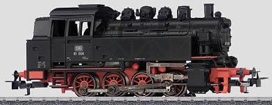 Marklin 36321 - Dgtl DB cl 81 Tank Locomotive - Start up