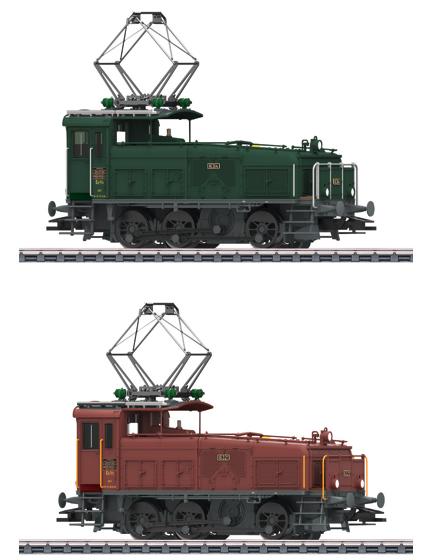 Marklin 36332 - Swiss Double Locomotive cl Ee 3/3 Halbschuh of the SBB (Sound Decoder)