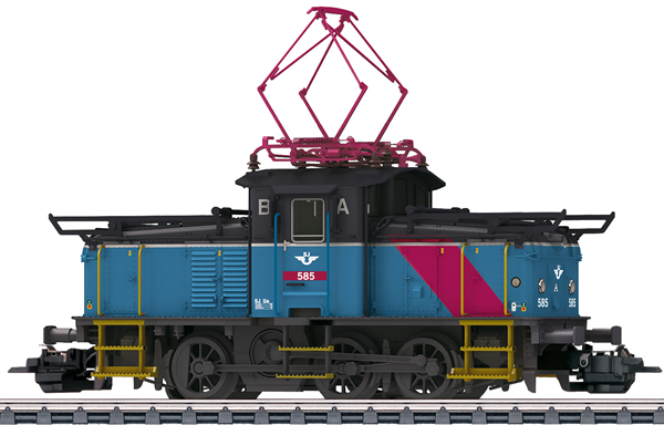 Marklin 36351 - Dgtl SJ Class Ue Electric Switch Engine, Era V